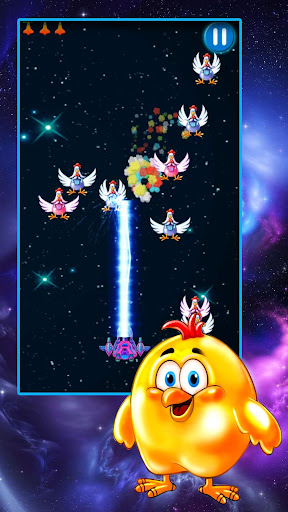 Chicken Shooter: Space Shooting  screenshots EasyGameCheats.pro 3