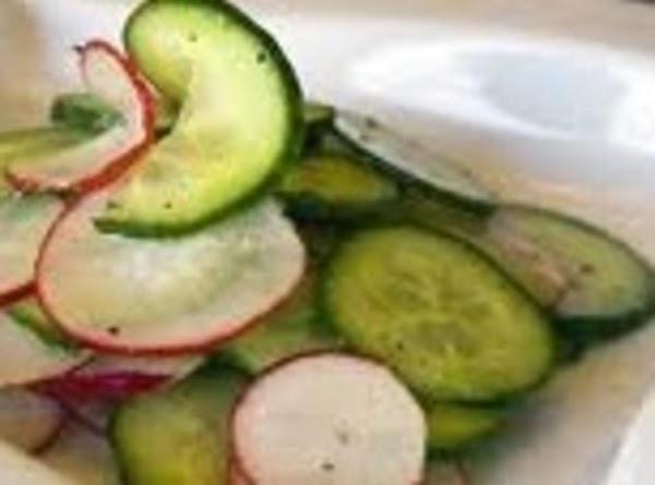 Cucumbers And Vinegar Recipe