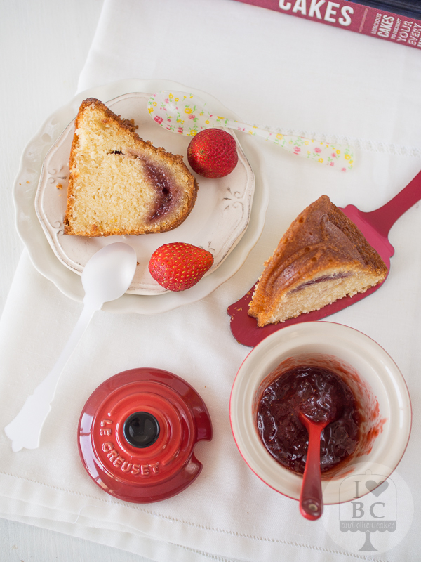 Strawberry Orange Bundt Cake
