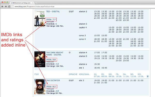 IMDb for Swiss cinema