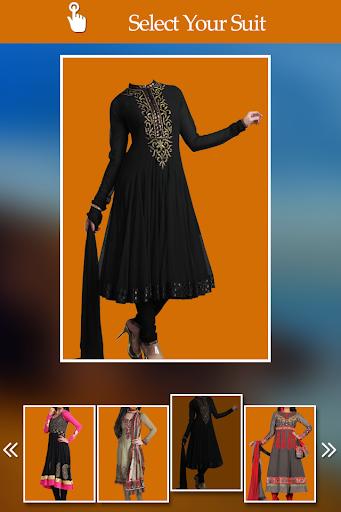 Women Churidar Photo Suit