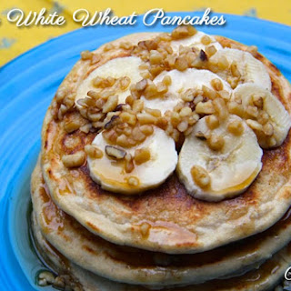 White Whole Wheat Pancakes