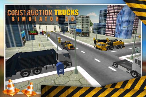 施工卡车模拟器