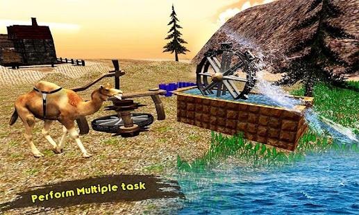 Camel Simulator Transporter Game - náhled