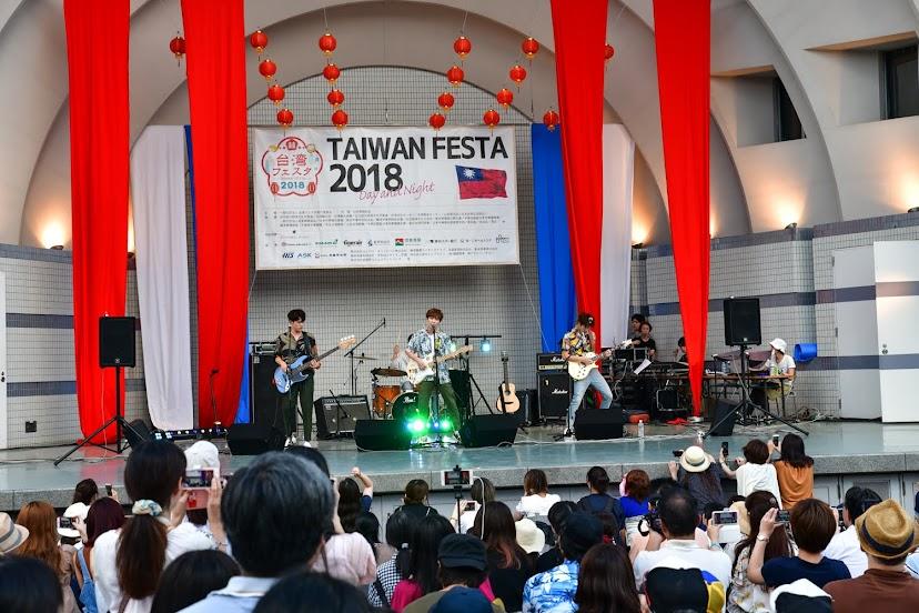 【迷迷現場】「 noovy 」台灣少年郎樂團打入日本 登場日本台灣祭2018連兩日開唱