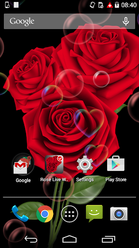 Rose Free Live Wallpaper