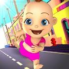 Bebé Correr El Escape Niñera icon
