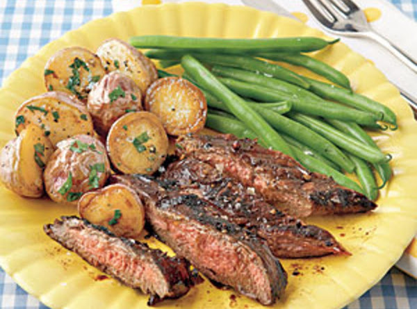 Balsamic-marinated Flank Steak Recipe