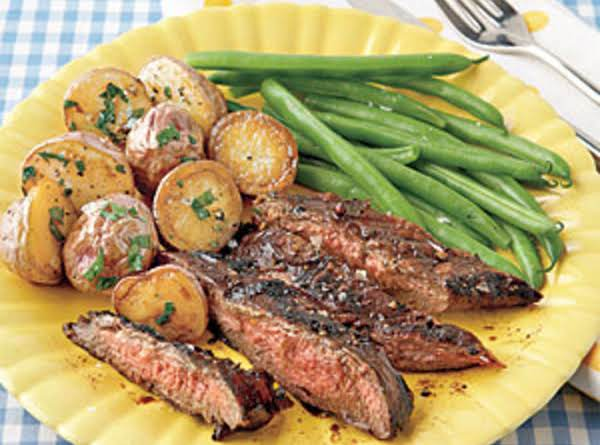 Wonderful Flavor Of The Balsamic, Gives The Steak An Awesome Taste When Cooked On The Grill!