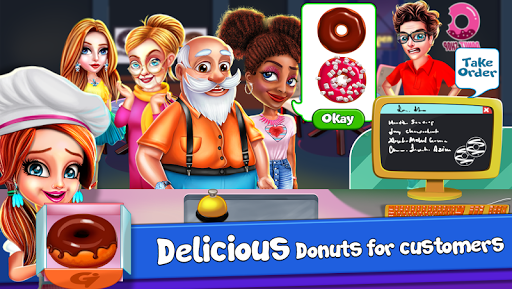 Donut Truck - Cafe Kitchen Cooking Games filehippodl screenshot 21