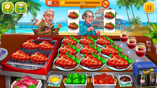 Cooking Hot Mod Apk- Craze Restaurant Chef (Unlimited Money) 4