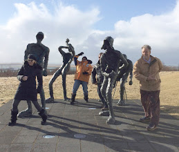Photo: Outside Perla, Reykjavik