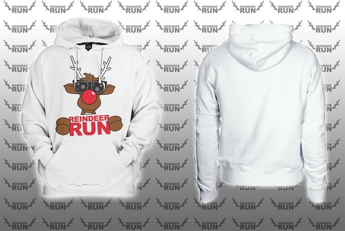 Optional CRW Reindeer Run College Hoodie