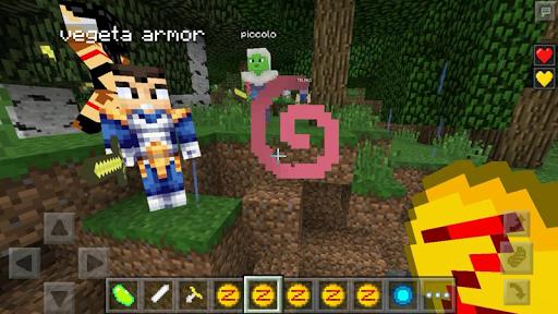 Saiyan Mod for Minecraft 1.0 screenshots 2