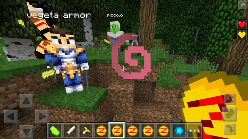 Saiyan mod for minecraft android apps on google play for Good craft 2 play store