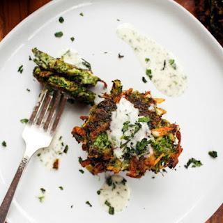 Broccoli Potato Cakes.