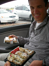 Photo: We ate sushi from Safeway right in the same parking lot in 2008.