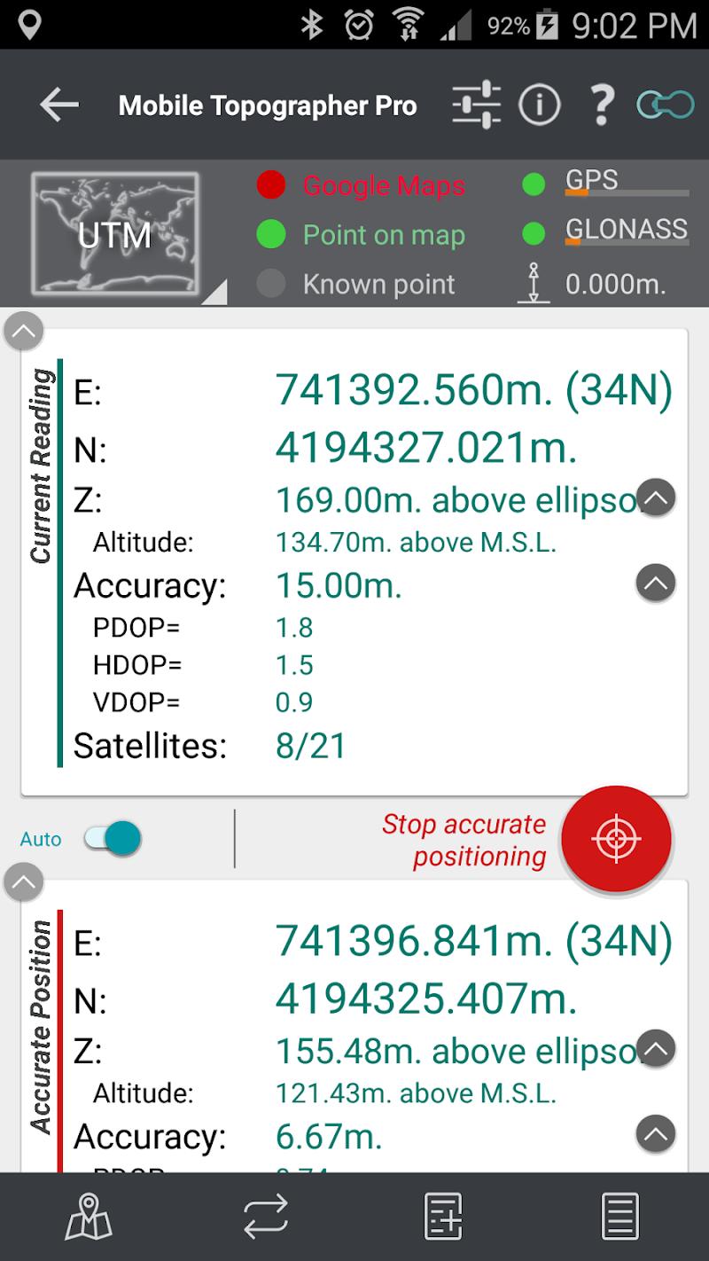 Mobile Topographer Pro Screenshot 3