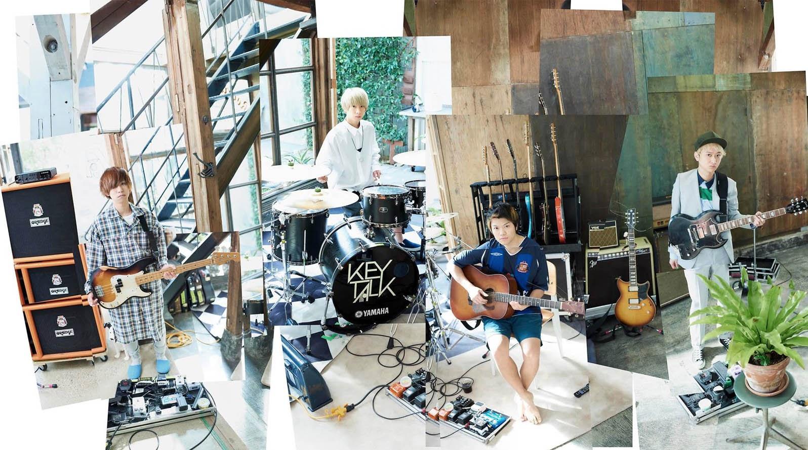 KEYTALK七月來台與大家相見 最新專輯《PARADISE》台壓發行