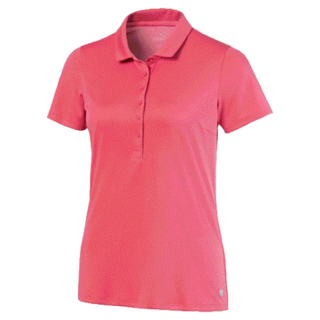 Puma Golf W Rotation Polo Rapture Rose