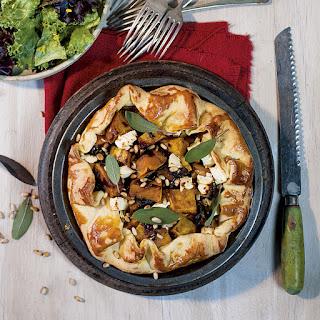 Rustic Butternut, Onion Jam & Feta Tart