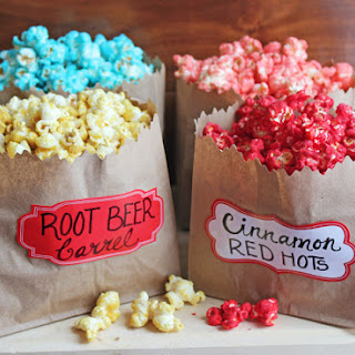 Candy Flavored Popcorn Recipes.