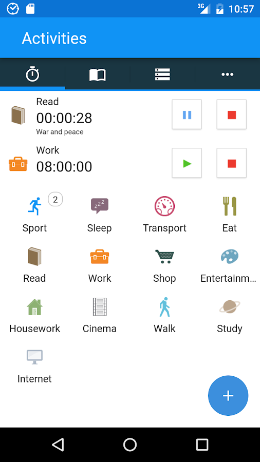 aTimeLogger - Time Tracker- screenshot