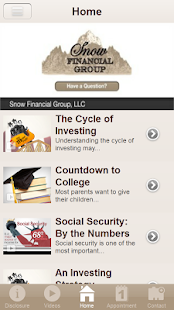 Snow Financial Group, LLC- screenshot thumbnail