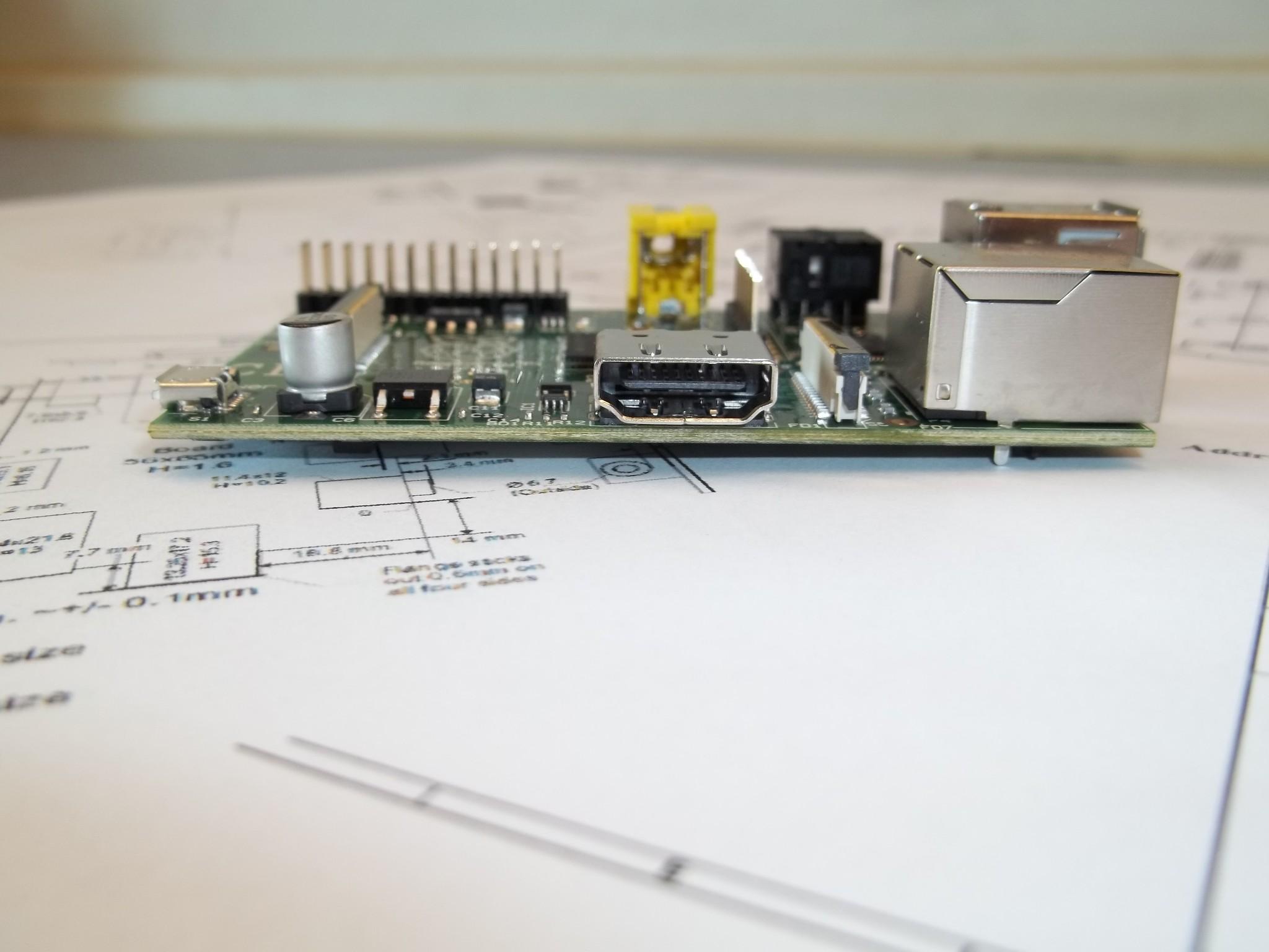 Photo: varie viste della Raspberry Pi HDMI