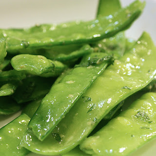 Ginger Mint Snap Peas