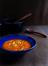 Photo: Name - Pavithra Koka  Blog URL -- www.theyummymorsel.blogspot.com  The title of the photo - Minestrone Soup  The URL of the post containing the photograph - http://theyummymorsel.blogspot.com/2012/12/minestrone-soup-cold-weather-hot-soup.html  The camera used - Canon SX130 IS  Location - Maryland, USA