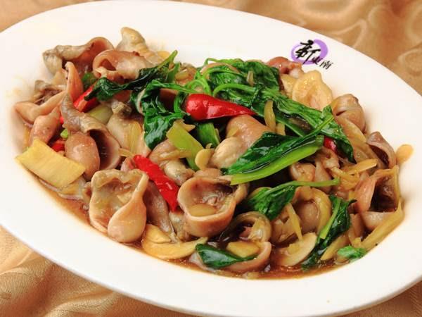石斑肚炒酸菜