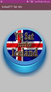 Iceland TV channels (Sat info) provides FREE - náhled