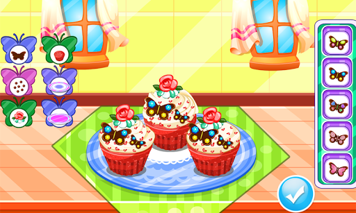 Butterfly muffins cooking game 1.0.1 screenshots 8