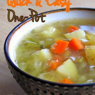 Quick & Easy Polish Pickle Soup (Vegan)
