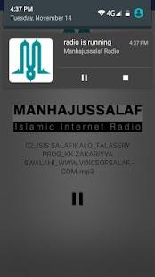 Manhajussalaf Radio - náhled