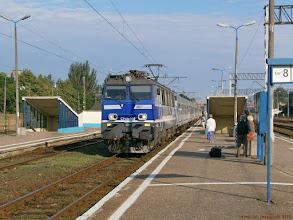 """Photo: EP09-002, TLK """"Cegielski"""" Poznań Główny - Kraków Główny {Kutno; 2013-06-24}"""