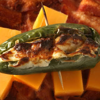 Bacon and Cheddar Jalapeño Poppers.