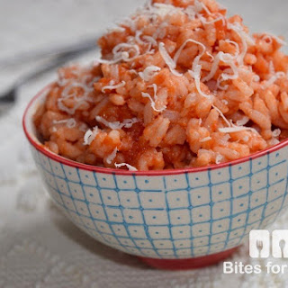 easy marinara risotto bites for foodies arborio rice marinara sauce ...