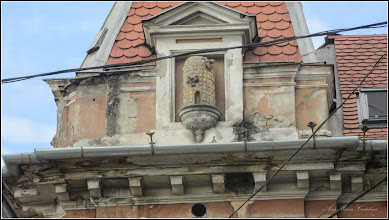 Photo: Cluj-Napoca - Piata Avram Iancu, Nr.6, detaliu  - 2018.04.27