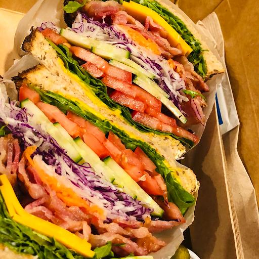Cheddar cheese & Bacon Sandwich