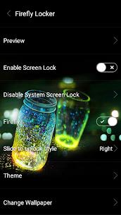Fireflies lockscreen 59 Mod APK Latest Version 1