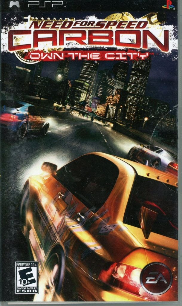 Handheld Video Game Sony Playstation Portable Need For Speed