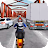 Moto racing -  Traffic race 3D logo