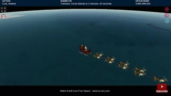 Santa Tracker LIVE - náhled