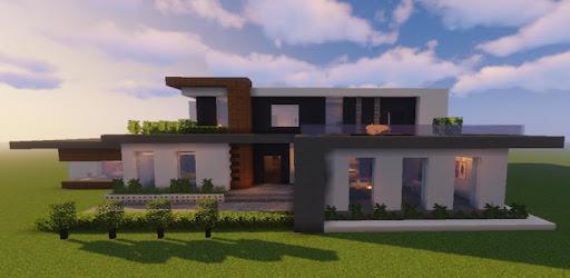 24 Gambar Rumah Modern Mcpe Terbagus Lingkar Png