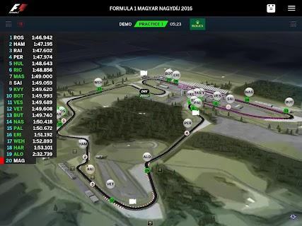 Official F1 ® App screenshot 08