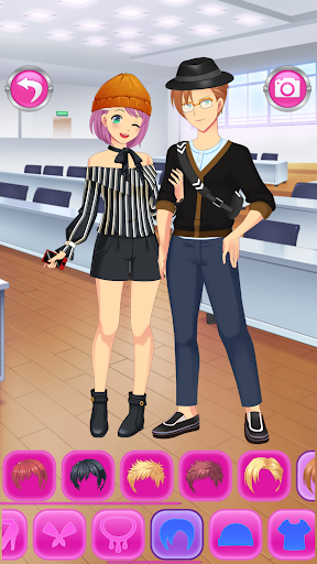 Anime Couples Dress Up Game android2mod screenshots 20
