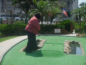Photo: I'm working the hole!