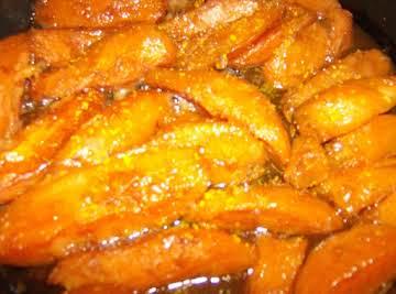 Rose Mary's Orange Glazed Candied Sweet Potatoes
